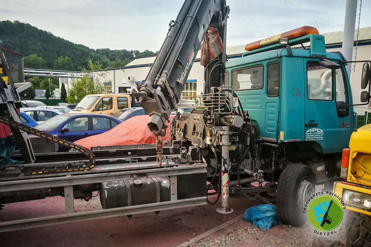 Bad Blankenburg, Abschleppdienst, APD Pannen und, Unfallhilfe, LKW, Sandstrahlen, Trockeneisreinigung Dietzel