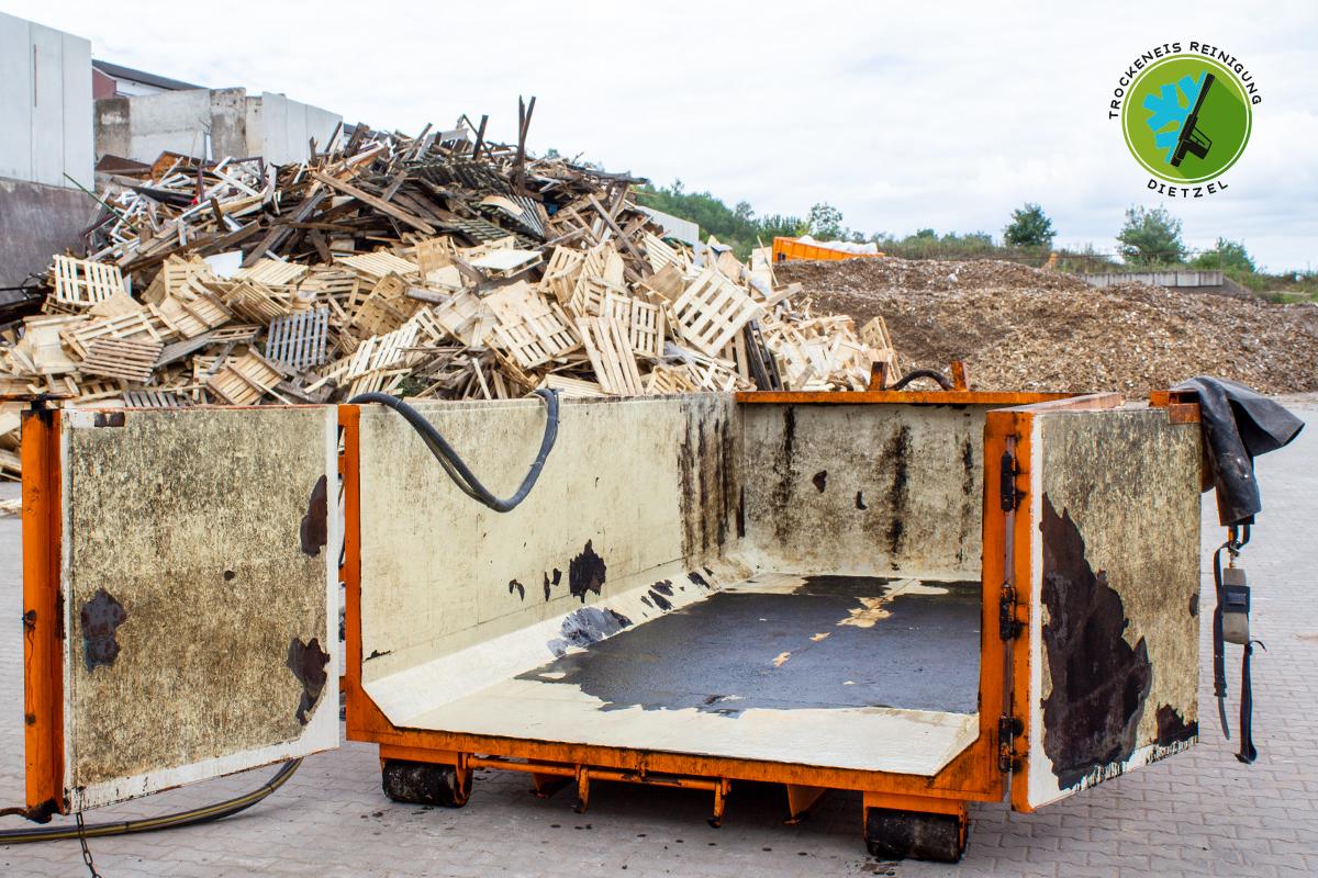 Betting, Abrollcontainer, Absetzcontainer, Unterwellenborn, Silolack entfernen,Rost, Sandstrahlen, Trockeneisreinigung Dietzel, 5